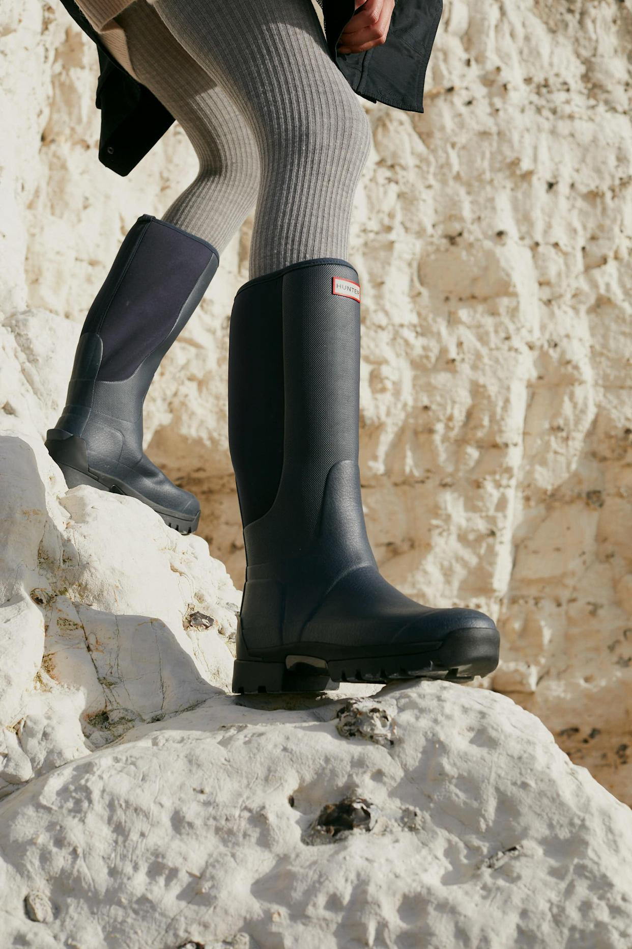 Hunter's best-selling tall wellies have had a makeover. (Hunter)