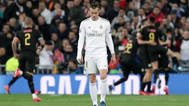 Gareth Bale Real Madrid Manchester City Champions League 2020