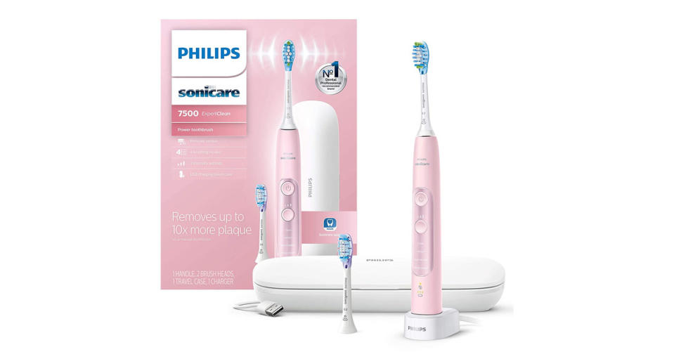 Philips Sonicare ExpertClean Rechargeable Electric Toothbrush (Photo: Amazon)