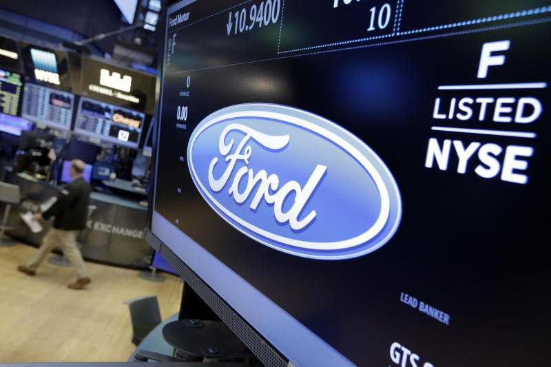 Ford To Cut Global Workforce By 10% Following Share Price Slump
