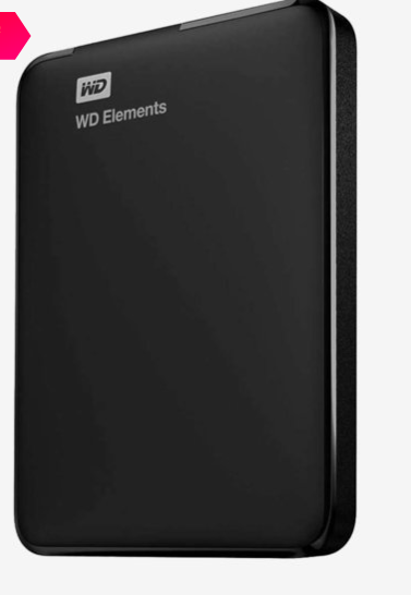 "<a href=""https://fave.co/2IKc0Cx"">BUY HERE</a> WD Elements 1.5 TB Portable External Hard Drive (Black), from Tata Cliq for a discounted price of Rs. 3,989"