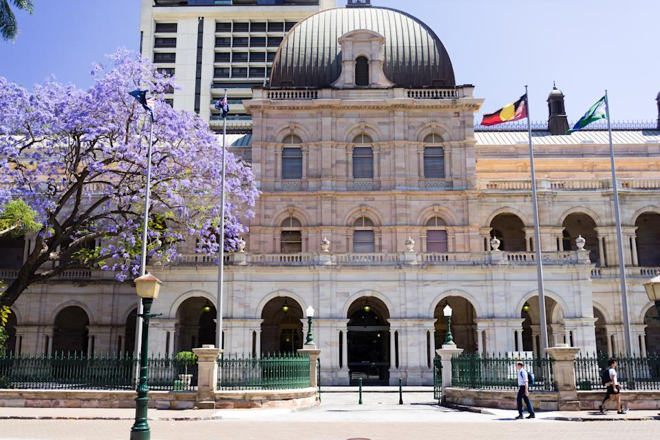 Queensland Parliament House. (Source: Getty)