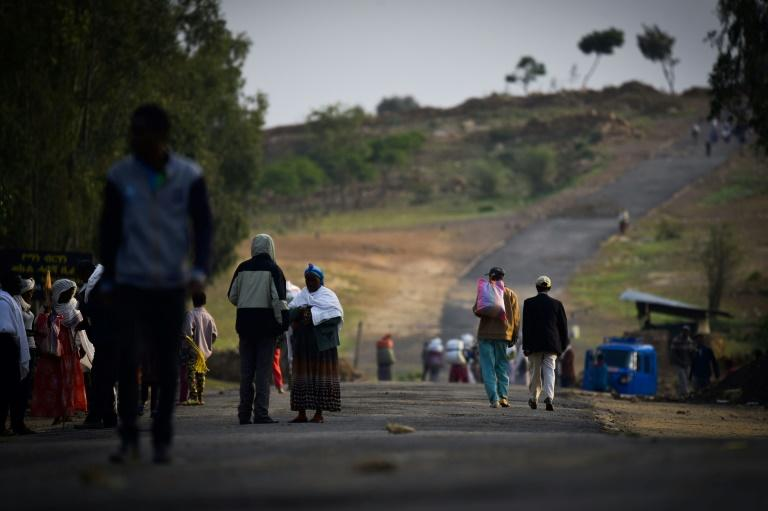 The Zalambessa border crossing closed at the end of last year (AFP Photo/Michael TEWELDE)