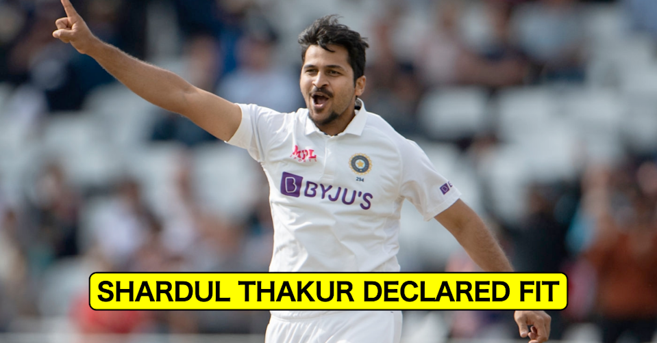 England vs India, 2021: Shardul Thakur Declared Fit Ahead Of The 3rd Test