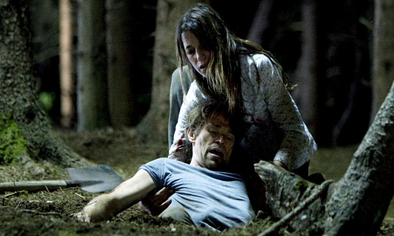 <p><span>Dir: Lars von Trier</span><br /><span><em>Antichrist</em> may arguably be one of the most shocking movies ever made. Starring Willem Dafoe and Charlotte Gainsbourg as a couple who retreat to the country after their son dies, the film follows her descent into vengeful madness as she tortures her husband and herself through genital mutilation. In 2009 the BBFC approved the release of the film uncut so make sure you have a sickbag ready if you do manage to watch it.</span> </p>