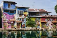 <p>What was once one of Asia's most important trading ports is now a popular tourist destination. Run along the Malacca River or along the ocean. The region was controlled by the Portuguese, Dutch, and British so the region boasts a blend of different architectural styles in between the native Malaysian cultural sites.</p>