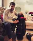 """<p>Olympic gold medalist Michael Phelps was so excited about his new G/FORE golf bag that he took to Instagram to personally thank the big man: """"Hell yeah!!!!! Thanks Santa!!"""" (Photo: <a rel=""""nofollow noopener"""" href=""""https://www.instagram.com/p/BOdBtJlgN3K/"""" target=""""_blank"""" data-ylk=""""slk:Instagram"""" class=""""link rapid-noclick-resp"""">Instagram</a>) </p>"""