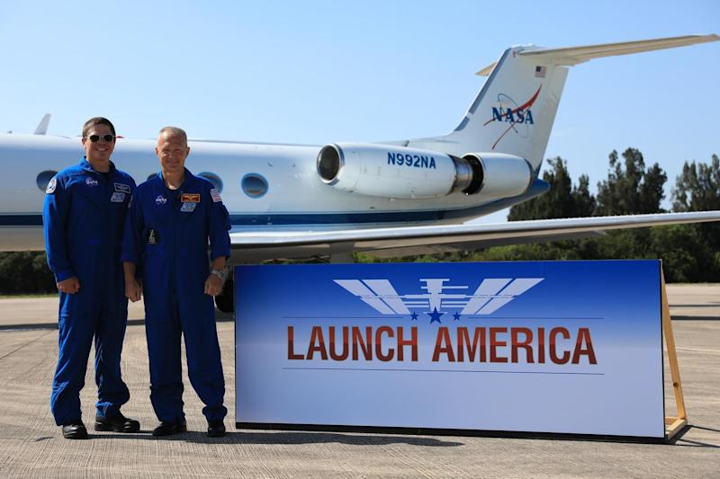 Robert Behnken and Douglas Hurley could become the first astronauts to be sent into space by a private company: PA