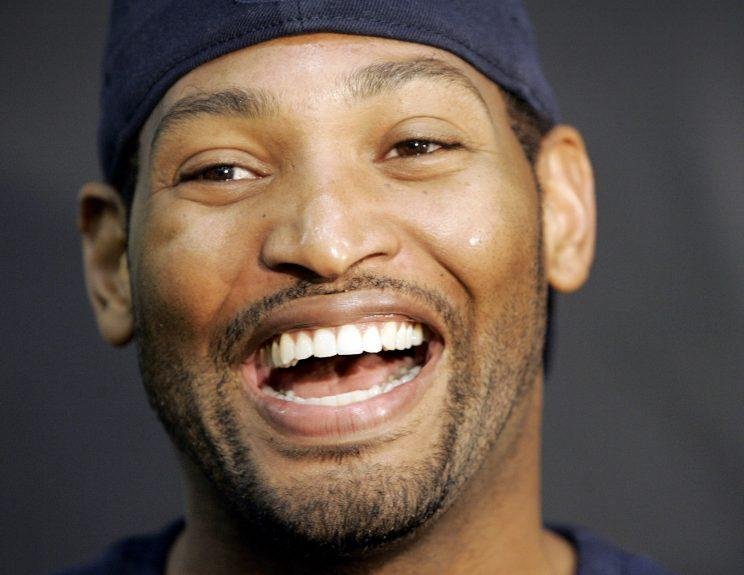 Robert Horry allegedly engaged in an altercation with a fan who heckled and shoved him. (AP)