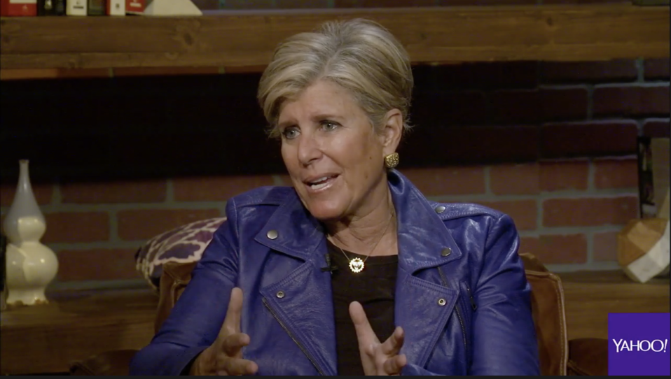 Suze Orman shares investing tips with Yahoo Finance's Jeanie Ahn