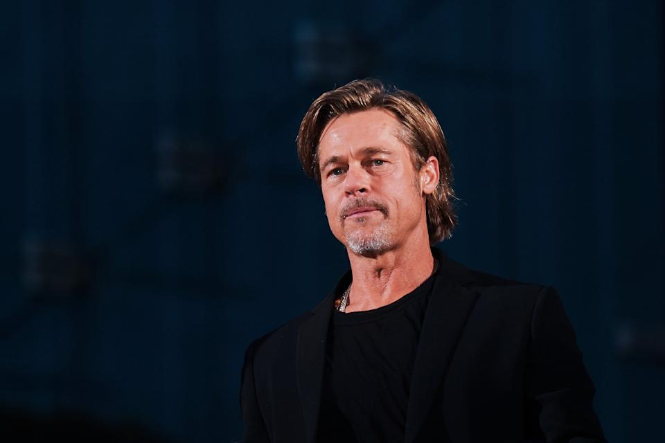 TOKYO, JAPAN - SEPTEMBER 13: Brad Pitt attends the Japan premiere of 'Ad Astra' on September 13, 2019 in Tokyo, Japan. (Photo by Ken Ishii/Getty Images)