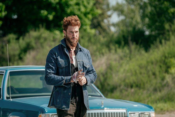 Pablo Schreiber as Mad Sweeney in Starz's <i>American Gods</i>. (Photo: Starz)