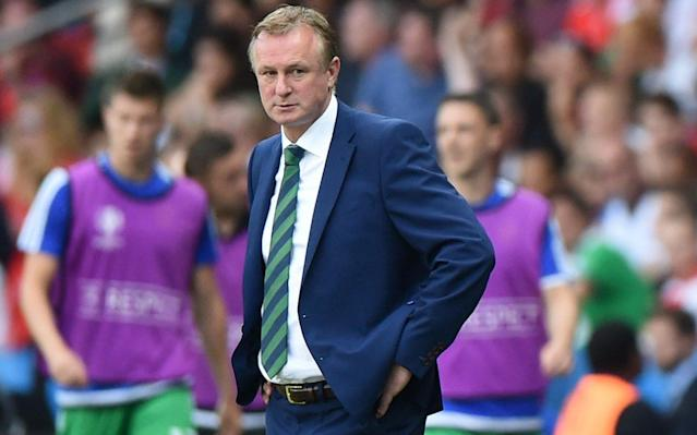 Michael O'Neill guided Northern Ireland to the finals of Euro 2016 - Rex Features