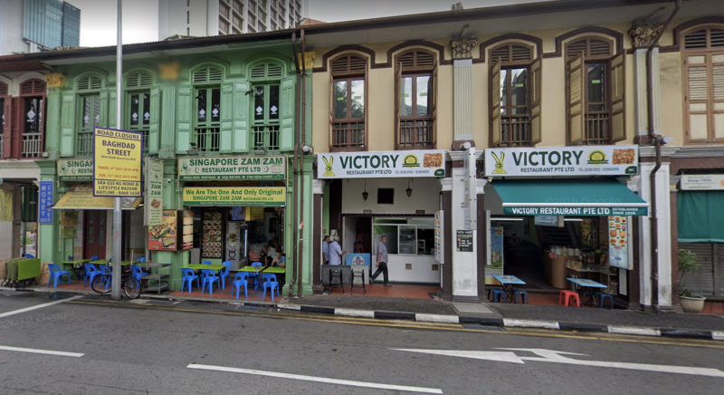 Zam Zam and Victory restaurant. Photo: Google Street View