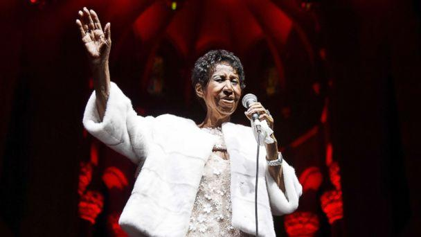 PHOTO: Aretha Franklin performs on Nov. 7, 2017, in New York City. (Nicholas Hunt/WireImage via Getty Images)