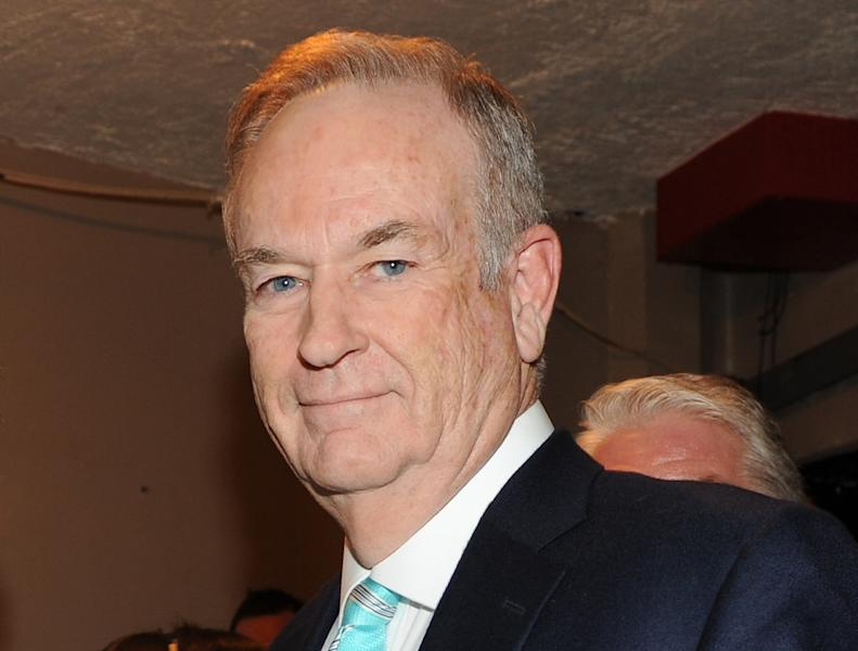 """This Oct. 13, 2012 file photo shows Fox News commentator and author Bill O'Reilly at the Comedy Central """"Night Of Too Many Stars: America Comes Together For Autism Programs"""" at the Beacon Theatre in New York. O'Reilly, whose book """"Killing Jesus: A History"""" is being published Sept. 24, has already inked a deal with National Geographic Channel for the movie version. And he's got three similar books in the works. While he declined to divulge the topics, the upcoming projects will make """"very, very dramatic history come alive on the page and then in the movies,"""" O'Reilly said in an interview on the set of """"Killing Kennedy,"""" the film adaptation of his book about President John F. Kennedy's 1963 assassination. (Photo by Frank Micelotta/Invsion/AP, file)"""