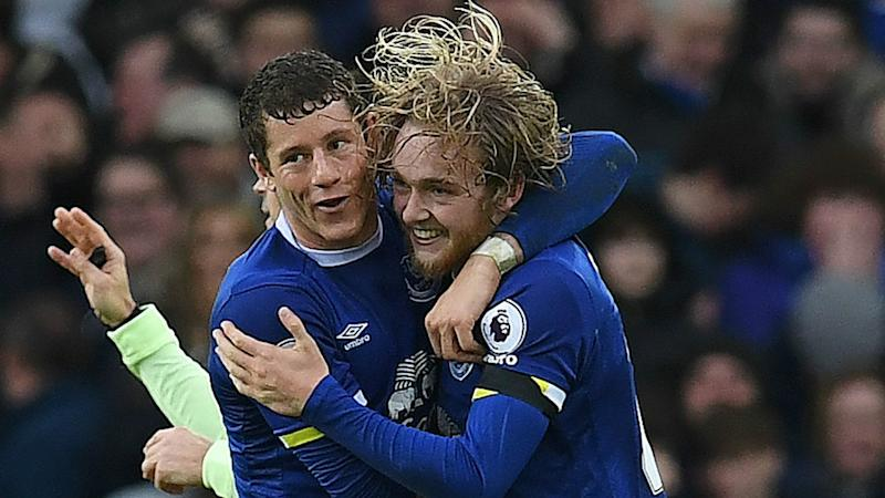 Ross Barkley Tom Davies Everton