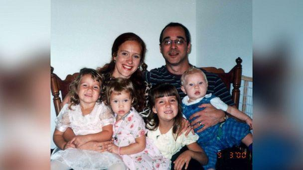 PHOTO: Rebecca Simic and Mark Winger had three biological children and one adopted daughter from his previous marriage. (Rebecca Simic)