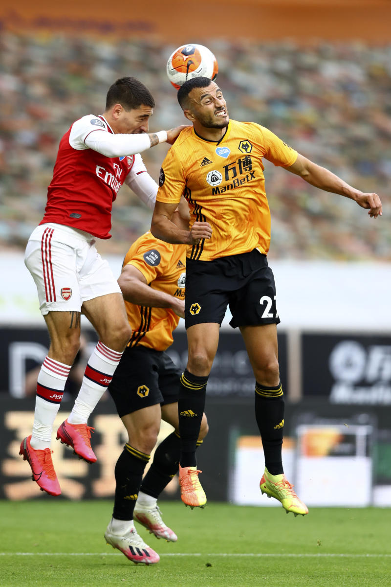 Wolves' CL hopes dealt a setback with 2-0 loss to Arsenal