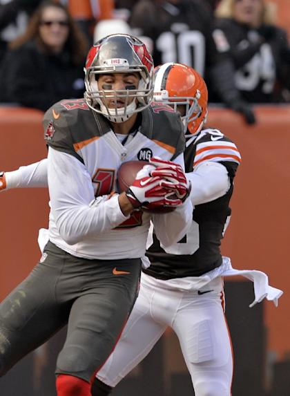 Mike Evans makes yet another house call (AP Photo/David Richard)