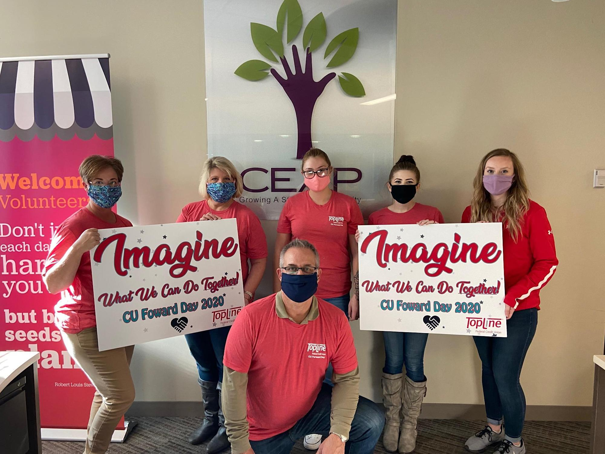 Topline Federal Credit Union Participates In Statewide Day Of Kindness