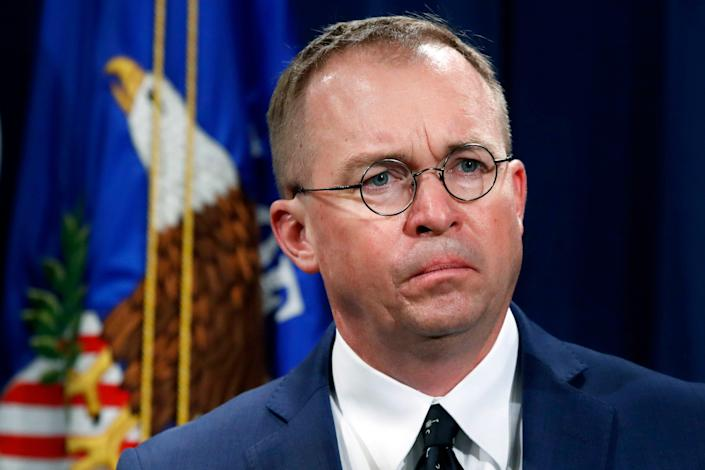 Mick Mulvaney, acting White House chief of staff, says the Trump administration also threatened to withhold money from Central American countries.