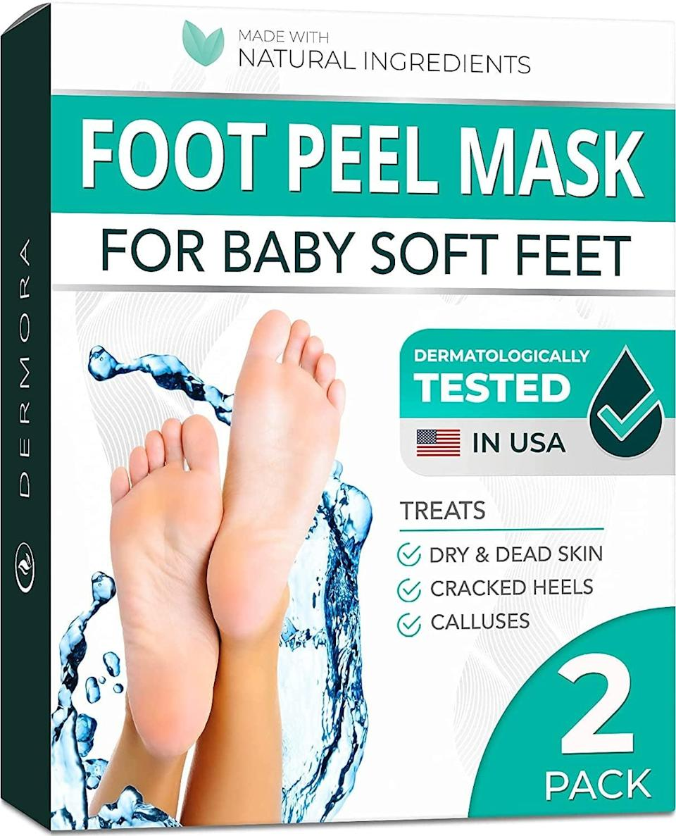 <p>Give yourself an at-home pedicure with this <span>Foot Peel Mask - 2 Pack</span> ($30). It will peel your dry, cracked skin and reveal softer, smoother feet! It's perfect for sandal season.</p>
