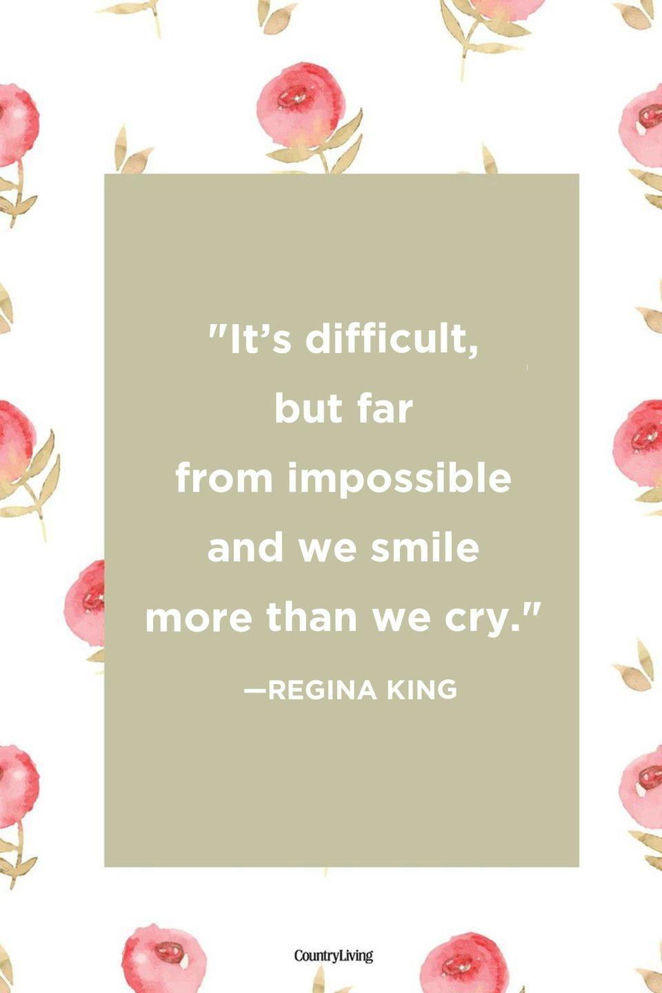 "<p>""It's difficult, but far from impossible and we smile more than we cry.""</p>"