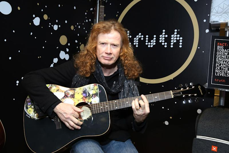 Dave Mustaine reached out to his fans during cancer treatment. (Photo: JP Yim/Getty Images for NARAS)