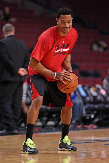 Derrick Rose will participate in the U.S. training camp. (Getty Images)