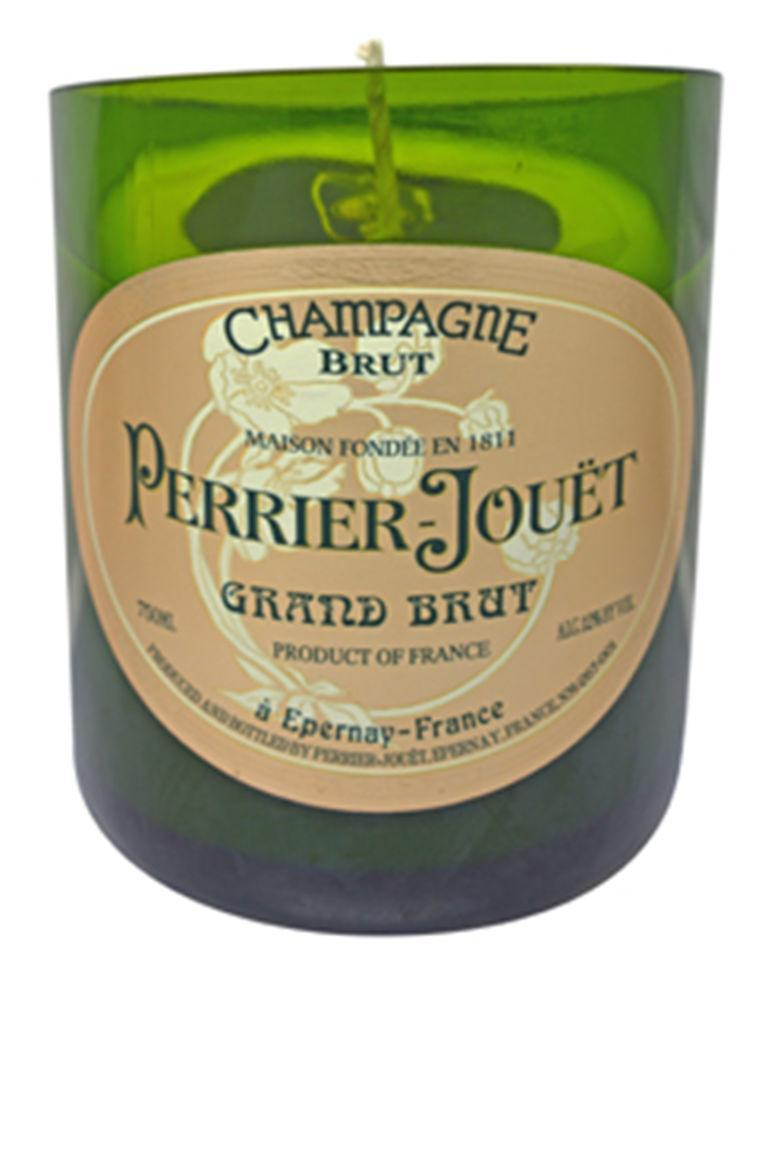 """<p>This build-your-own candle company lets you choose from dozens of different scents, wax colors, wicks, and bottle-types poured into a 100% recycled bottle of Perrier Jouet. </p><p><strong>Custom Candle Co.</strong> Perrier Jouet Grand Brut, $55, <a rel=""""nofollow noopener"""" href=""""https://www.customcandleco.com/product/perrier-jouet-grand-brut/"""" target=""""_blank"""" data-ylk=""""slk:customcandleco.com"""" class=""""link rapid-noclick-resp"""">customcandleco.com</a>.</p>"""