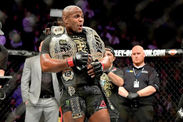 Daniel Cormier has some big plans for his next fight. (Getty Images)