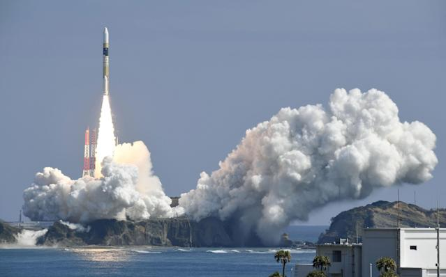 Japan launches spy satellite to watch North Korea