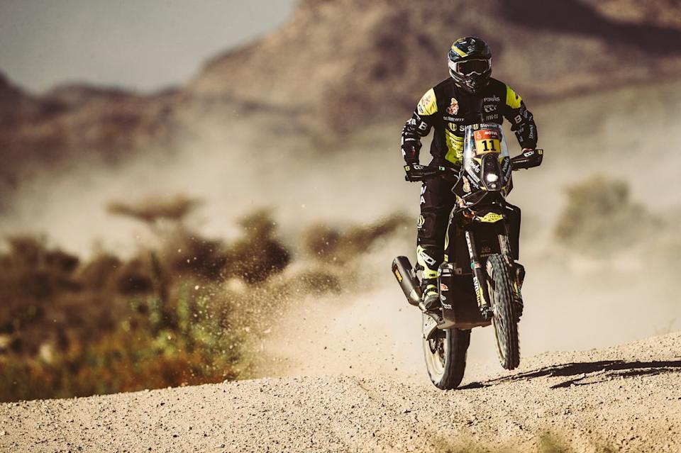 "#11 SLOAVNFT Rally Team KTM: Stefan Svitko<span class=""copyright"">Red Bull Content Pool</span>"