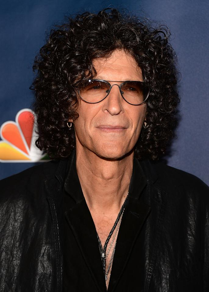 "NEW YORK, NY - AUGUST 07: Howard Stern attends ""America's Got Talent"" Season 8 Red Carpet Event at Radio City Music Hall on August 7, 2013 in New York City. (Photo by Andrew H. Walker/Getty Images)"