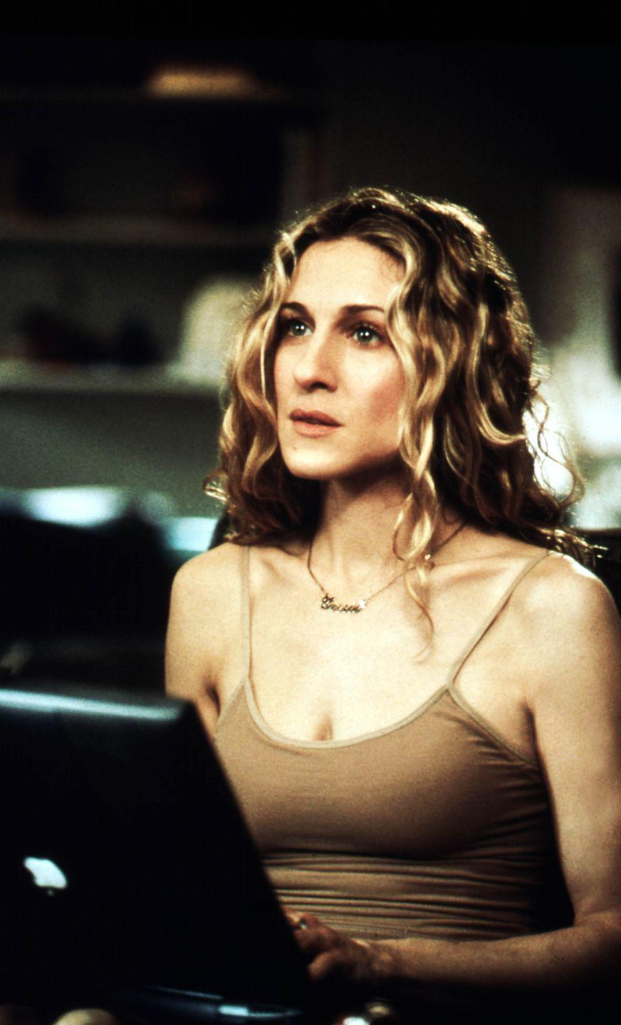 <p>It wasn't showy as some of Carrie Bradshaw's other statement jewels but this gold-plated chain was the piece that accompanied her throughout SATC, inspiring thousands of copycat styles along the way. </p><p>When Carrie lost it while living with Aleksandr Petrovsky (Mikhail Baryshnikov) in series six, such was her despair at losing her favourite sentimental charm that not even his offer of a string of Fred Leighton diamonds could soften the blow. Happily, the necklace turned up again in the lining of her handbag - once Carrie had decided to return to New York, of course. </p>