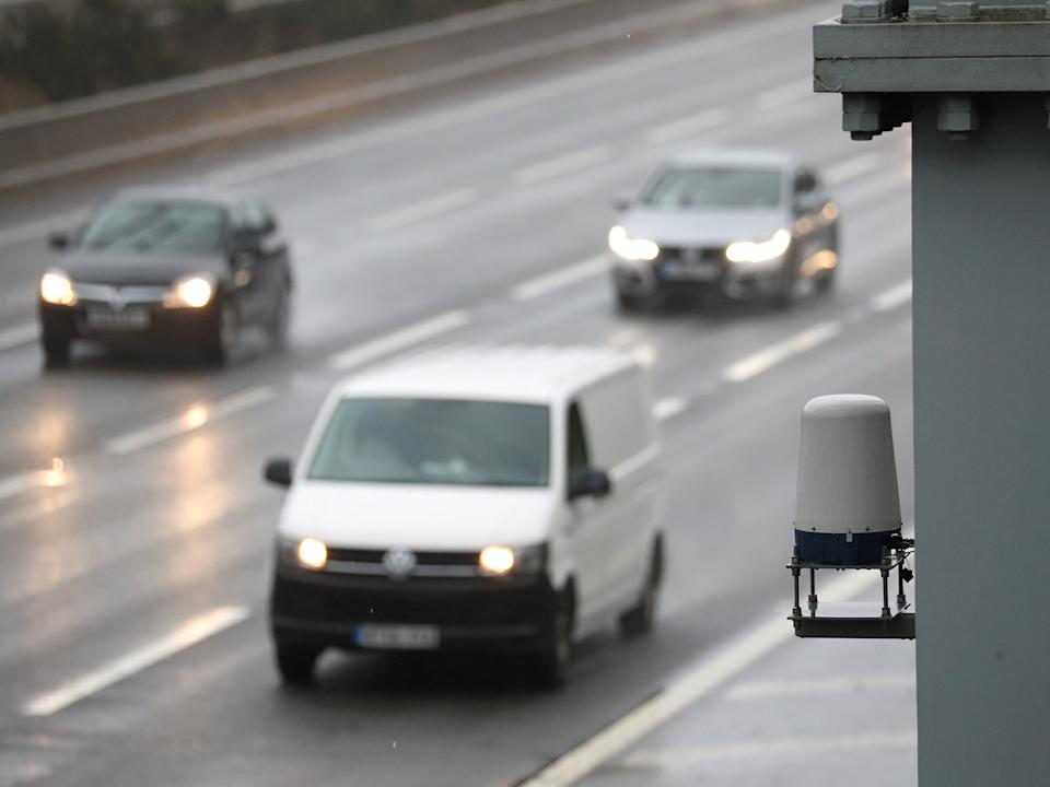 Less than five per cent of England's 500-mile smart motorway network has radar technology to detect breakdowns in live lanes, according to new analysis. (Andrew Matthews/PA)
