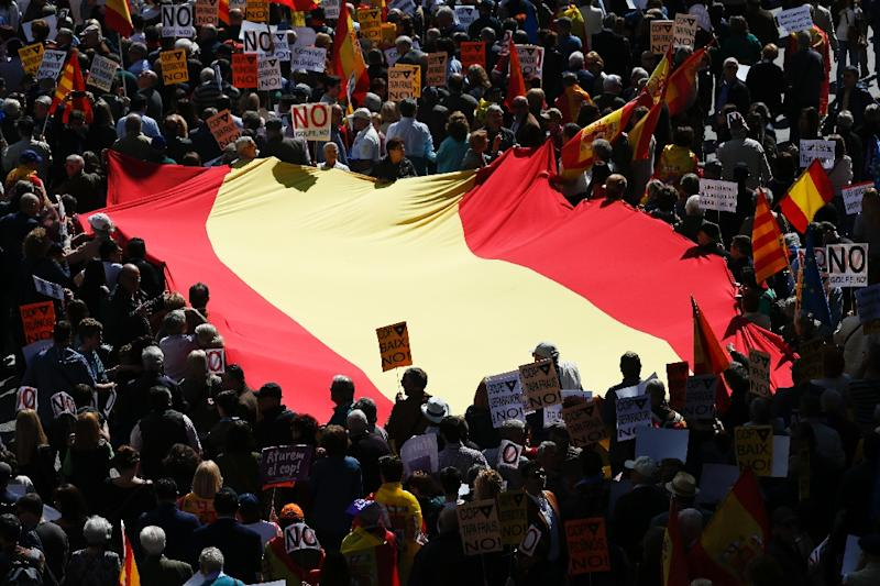 Madrid says plans by the regional Catalan government to hold an independence referendum is unconstitutional