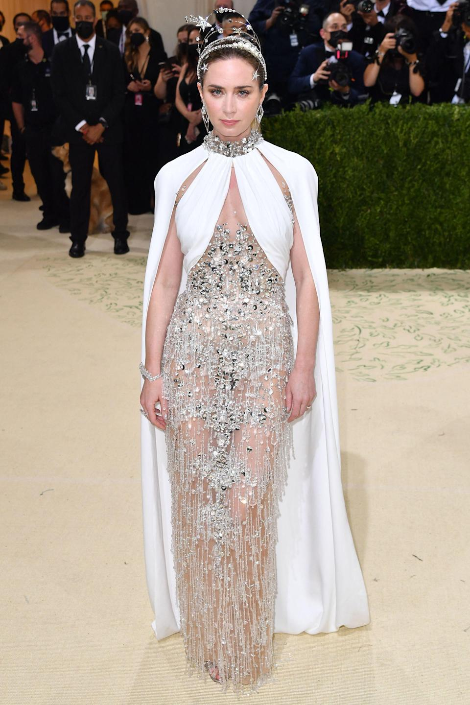 """<p>The Met Gala 2021 was back to bring us some of our favourite stars adorned in unique, show-stopping looks that encapsulated this year's theme of """"In America: A Lexicon of Fashion"""" - with many being inspired by US independence. </p><p>The world's biggest fashion event - usually held on the first Monday in May but postponed this year due to the pandemic - was co-chaired by Billie Eilish, tennis professional Naomi Osaka, Hollywood star Timothée Chalamet and poet Amanda Gorman. The gala was raising funds for the Metropolitan Museum of Art's Costume Institute and marked the opening of the institute's major annual exhibition. </p><p>Arriving in style at the New York fashion extravaganza were Emily Blunt, Michaela Cole, legendary supermodel Iman, Vigil's Rose Leslie, Carey Mulligan, Gemma Chan, tennis champion Emma Raducanu and Big Little Lies star Zoe Kravitz, to name but a few.</p><p>Here are some of our favourite looks from last night... </p>"""