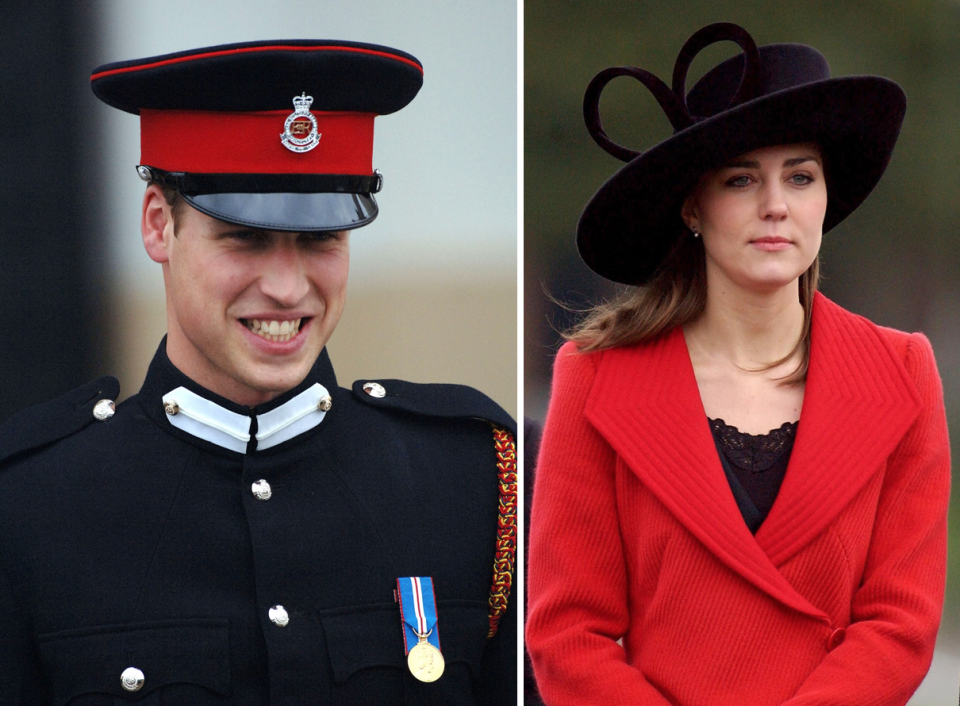 <p>Kate officially makes the royal relationship public by attending William's graduation ceremony at Sandhurst.<br><i>[Photo: PA]</i> </p>