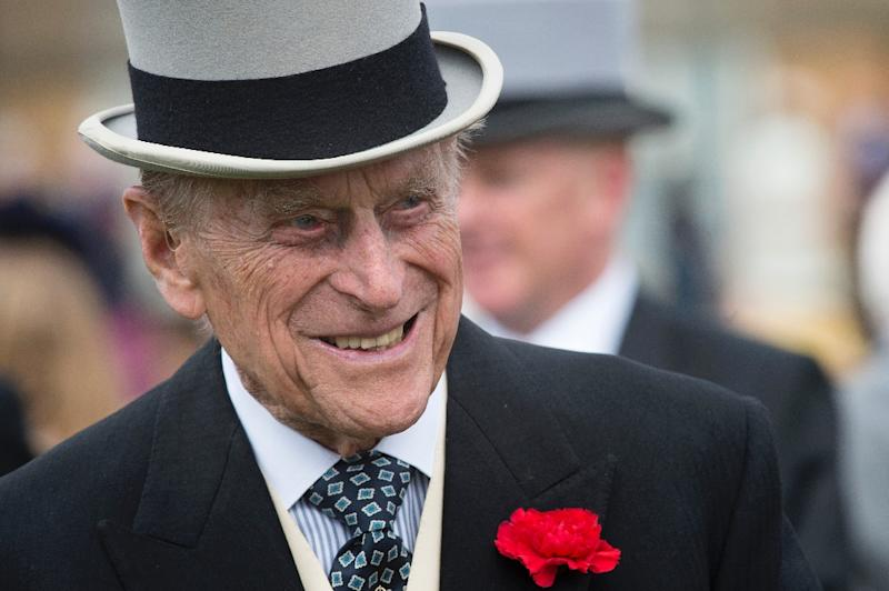 Britain's Prince Philip will attend a parade of Royal Marines at Buckingham Palace, the last of 22,219 solo public engagements since she ascended to the throne in 1952 (AFP Photo/Victoria Jones)