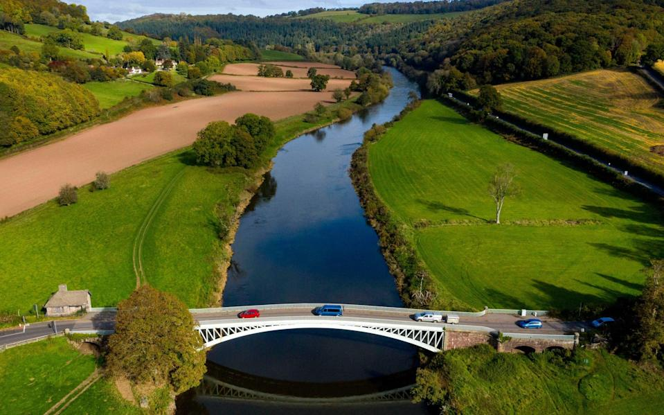 For now, this bridge on the England-Wales border should not be crossed unless for essential reasons - Getty