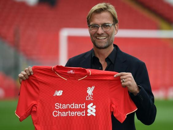 Klopp was appointed manager in October 2015 (AFP via Getty Images)
