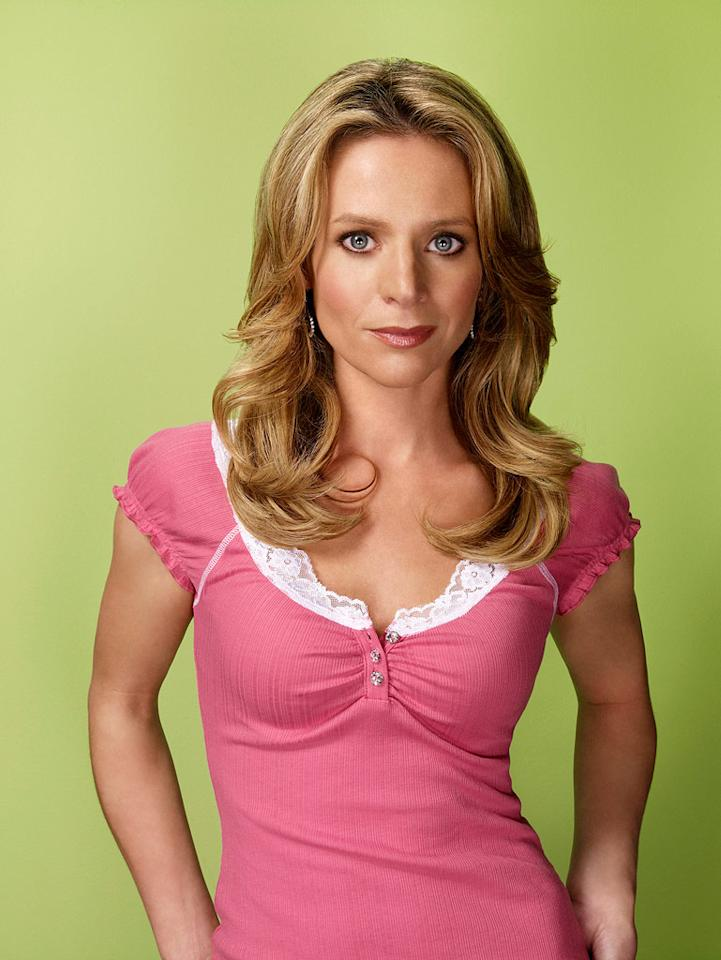 "Jessalyn Gilsig -- best known for her roles as Gina Russo, <a href=""/baselineshow/4656577"">""Nip/Tuck's""</a> resident sex addict with a borderline personality disorder and <a href=""/baselineshow/4710816"">""Boston Public's""</a> painfully conservative social studies teacher -- re-teams with her pal Ryan Murphy, the man responsible for creating both ""Nip"" and ""Glee."" And, once again, the actress is able to spew vitriol all over the screen as Terri Schuester, the crafting-obsessed, irrational, part-time retail-working, pregnant wife of Will, the Glee Club's savior."