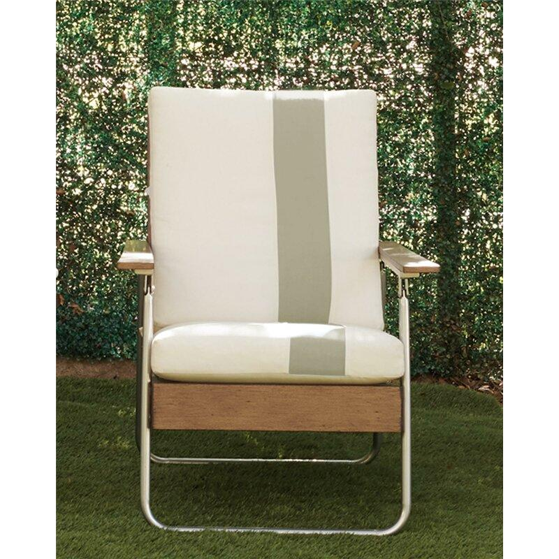 Lila Patio Chair with Cushions. Image via Wayfair.