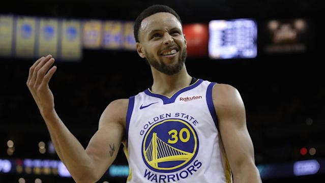 d295e669fd3 Stephen Curry's 38 points lead Warriors to Game 1 win over Clippers