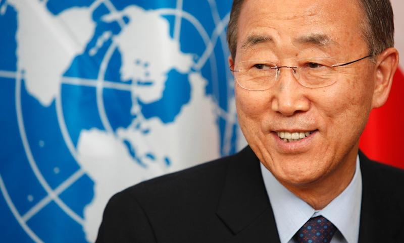 Current UN Secretary General Ban Ki-moon, pictured in Vienna on September 2, 2010, will step down at the end of 2016