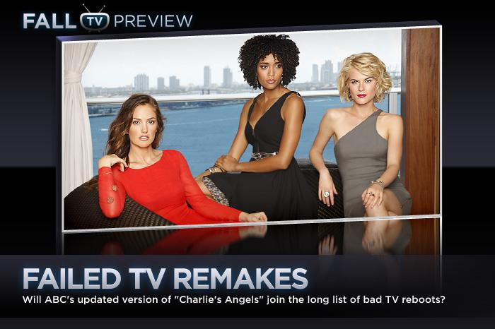 "These days on TV, everything old is new again: ABC's sexy new reboot of the '70s hit ""<a href=""/charlie-39-s-angels/show/47401"">Charlie's Angels</a>"" (debuting Sept. 22) is just the latest remake to hit the primetime schedule. Unfortunately, for every successful revamp (""<a href=""/hawaii-five-o/show/46551"">Hawaii Five-0</a>,"" ""<a href=""/battlestar-galactica/show/36672"">Battlestar Galactica</a>""), there are a dozen ill-conceived remakes that should've been left unmade. In an effort to get the networks to unplug the copy machine once and for all, we're calling out 10 of the worst repeat offenders."