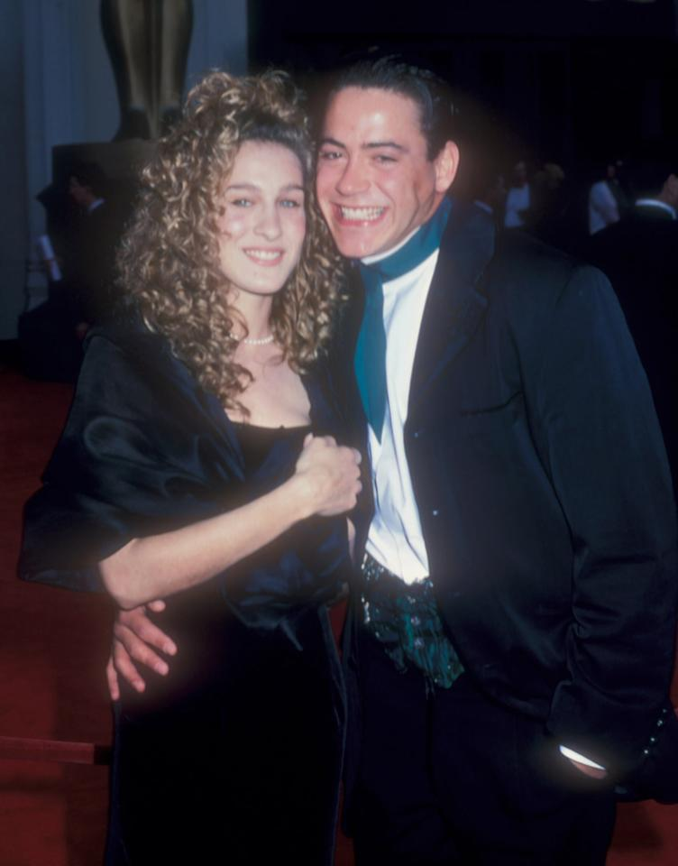 <p>Robert and Sarah Jessica looked very in love at the Oscars.</p>