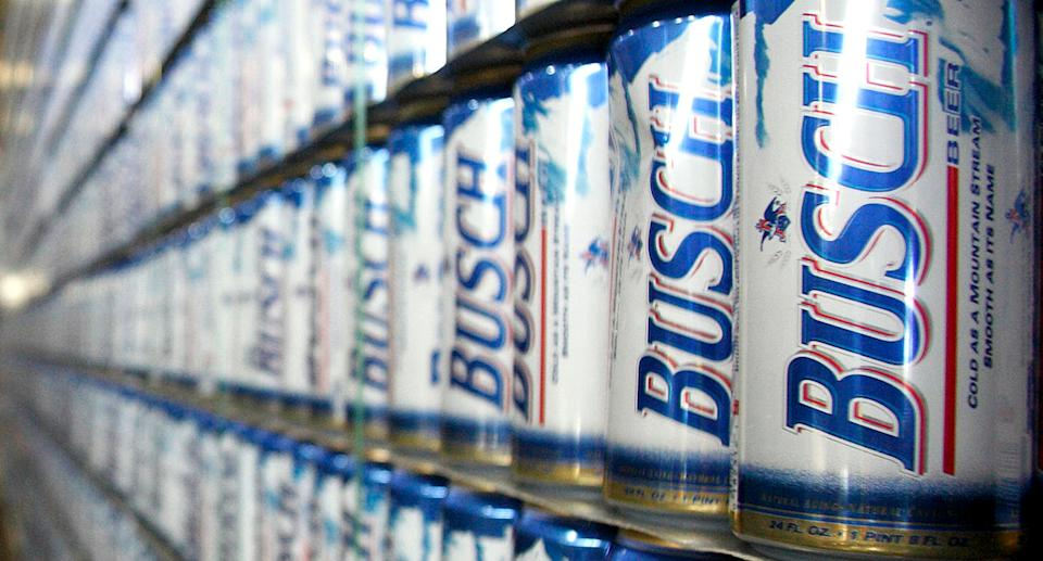 A can of Busch beer was found at the scene where Leo Beauregard was killed. Source: Getty